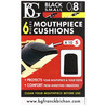 BG Mouthpiece Cushion Sax and Clarinet, Small 0.8MM (Pack Of 6)