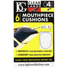 BG Mouthpiece Cushion Sax and Clarinet, Large 0.4mm (Pack Of 6)