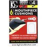 BG Mouthpiece Cushion Sax and Clarinet, Small 0.4mm (Pack Of 6)