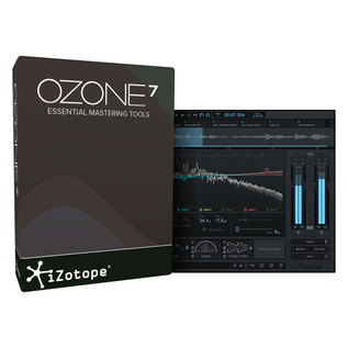 iZotope Ozone 7 Complete Mastering System (Boxed)