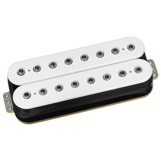 DiMarzio DP819 D Activator Neck 8 String Humbucker Pickup, White