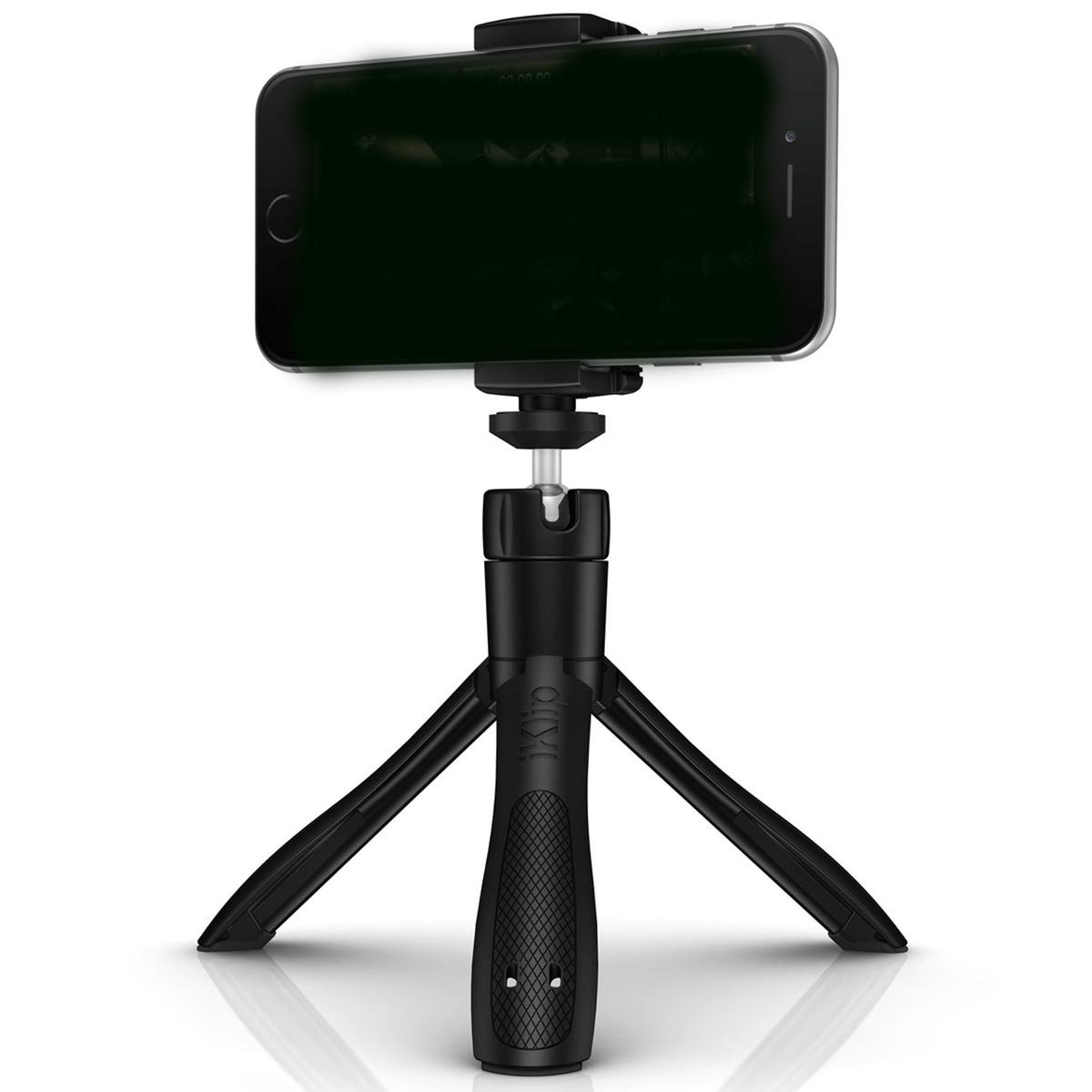 Image of IK Multimedia iKlip Grip Stand Selfie-Stick with Bluetooth