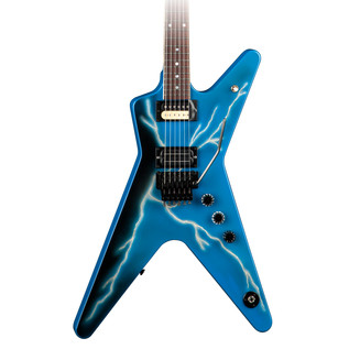 Dean USA Dimebag Commemorative ML Limited Run, Lighting Blue