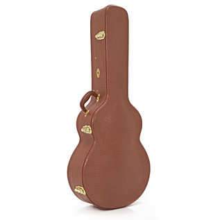 Deluxe Jumbo Acoustic Guitar Case by Gear4music
