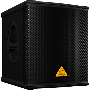 Behringer B1200D Active PA Subwoofer - Side View