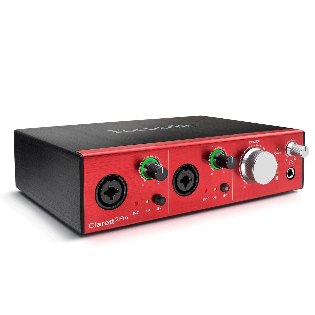 Image of Focusrite Clarett 2 Pre Thunderbolt Audio Interface