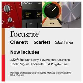 Focusrite Scarlett 2i4 and KRK RP5 G3 Studio Pack