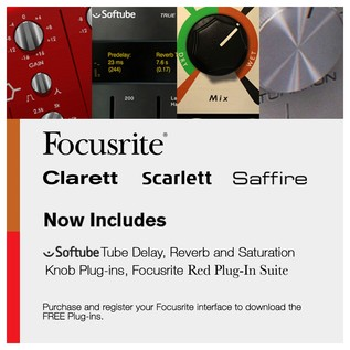 Focusrite Scarlett Recording Pack and KRK RP5 Studio Monitor Bundle