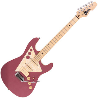 Italia Modulo Standard Electric Guitar, Metallic Burgundy
