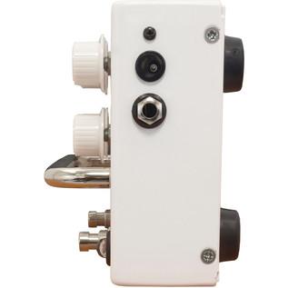 Orange BAX Bangeetar Guitar Pre-EQ Pedal, White + Free Cable