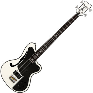 Italia Imola GP Bass Guitar, Prism White