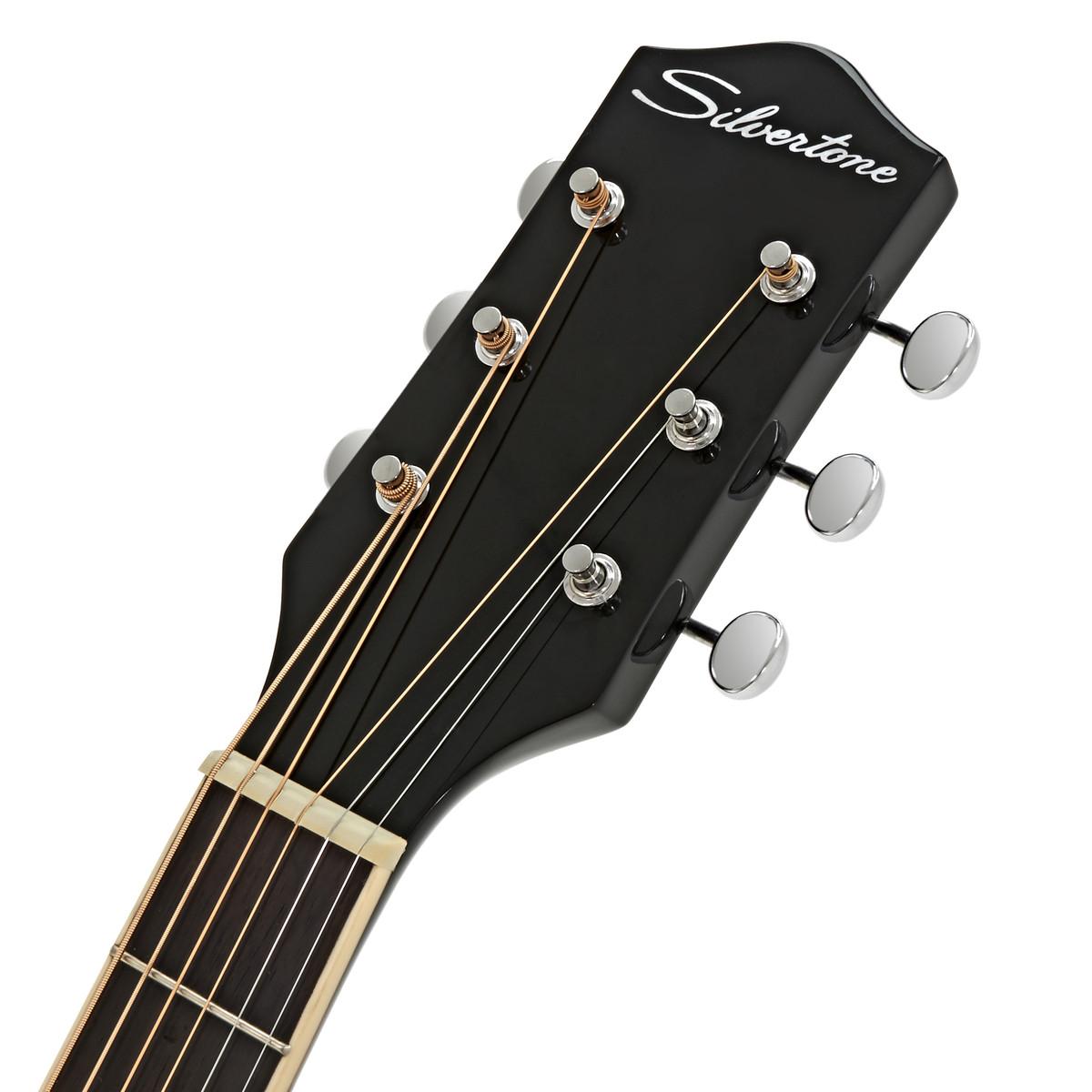 guitare acoustique silvertone 600 american vintage sunburst