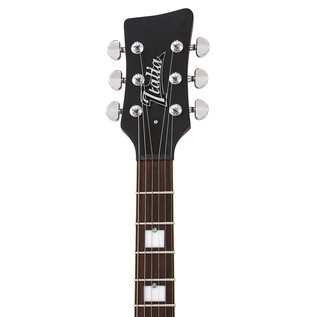 Italia Fiorano Standard Guitar, Burgundy Burst