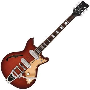 Italia Fiorano Standard Guitar, Vintage Violin Burst