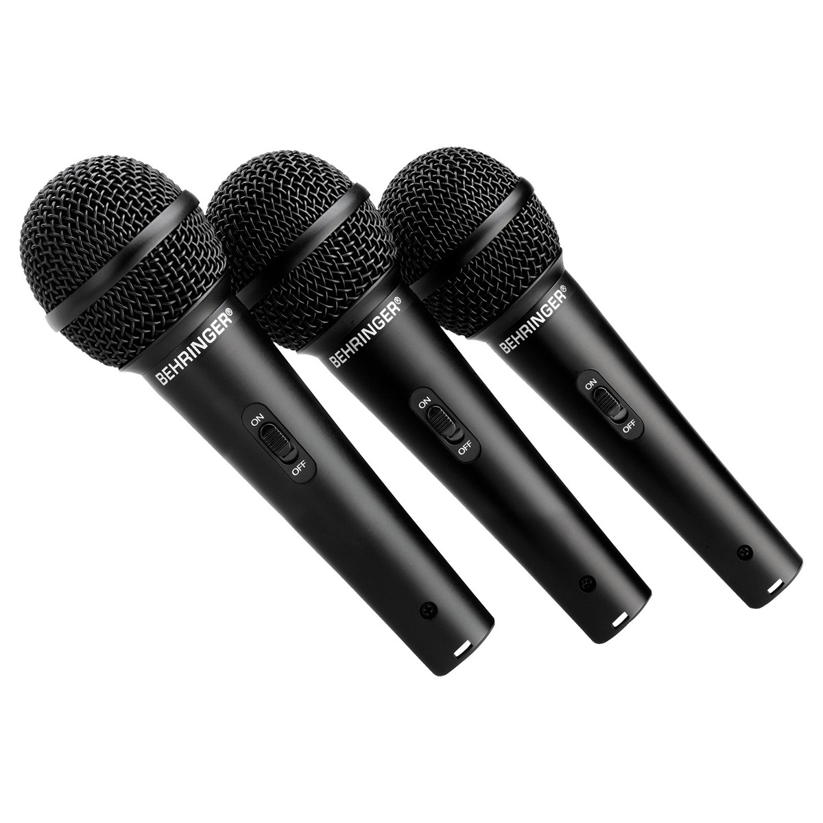 behringer xm1800s ultravoice dynamic microphone 3 pack at. Black Bedroom Furniture Sets. Home Design Ideas