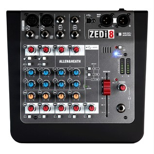Allen and Heath Zedi8 Compact Mixer