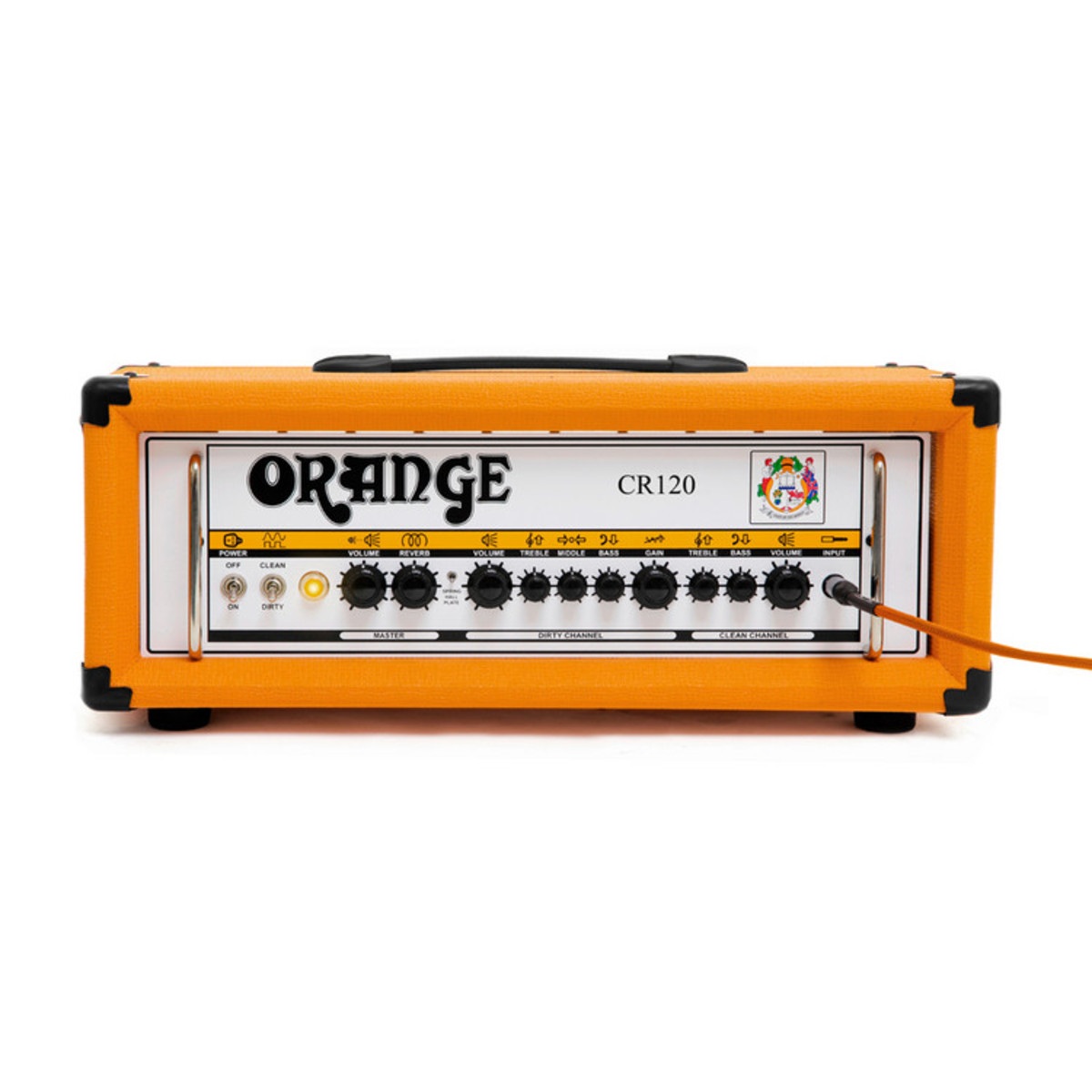 orange crush cr120h amp head nearly new at. Black Bedroom Furniture Sets. Home Design Ideas