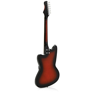 Silvertone 1478 Electric Guitar, Red Sunburst