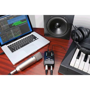 IK Multimedia iRig PRO Duo 2-Channel Interface