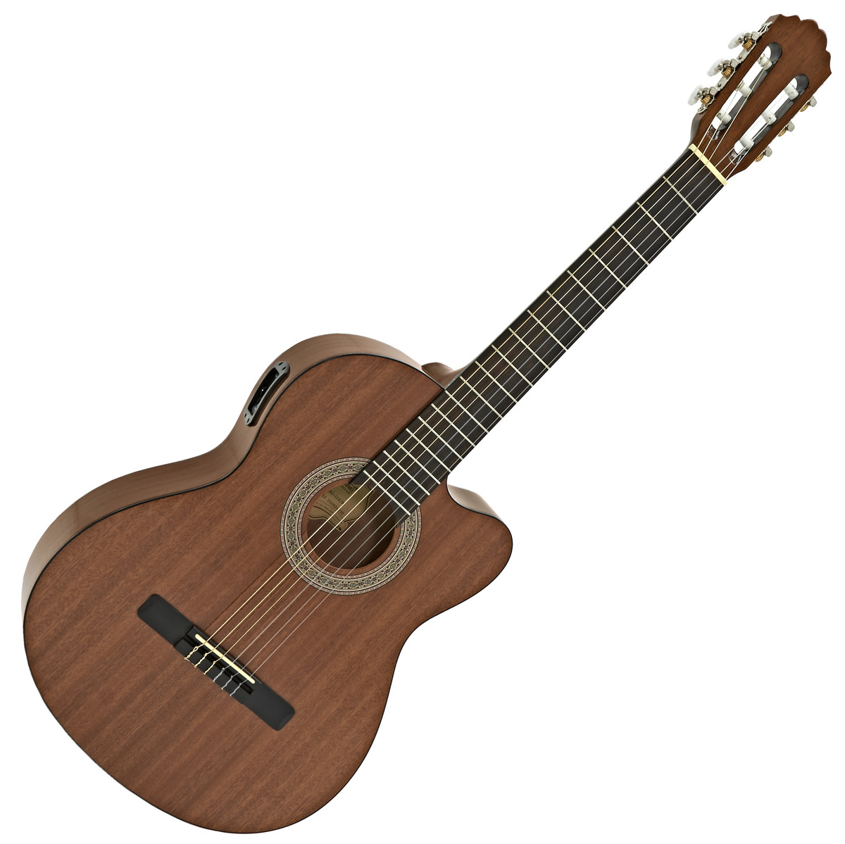 Image of Greg Bennett CNG-1CE Electro Classical Guitar Mahogany