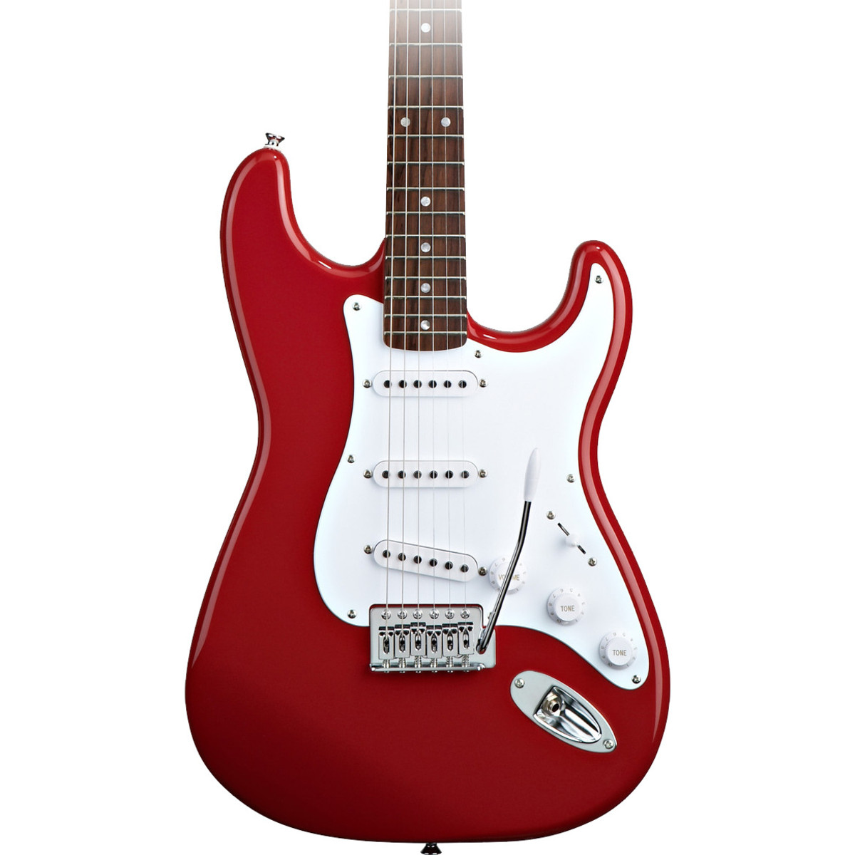 disc squier by fender stratocaster red subzero sz1250 bundle at. Black Bedroom Furniture Sets. Home Design Ideas