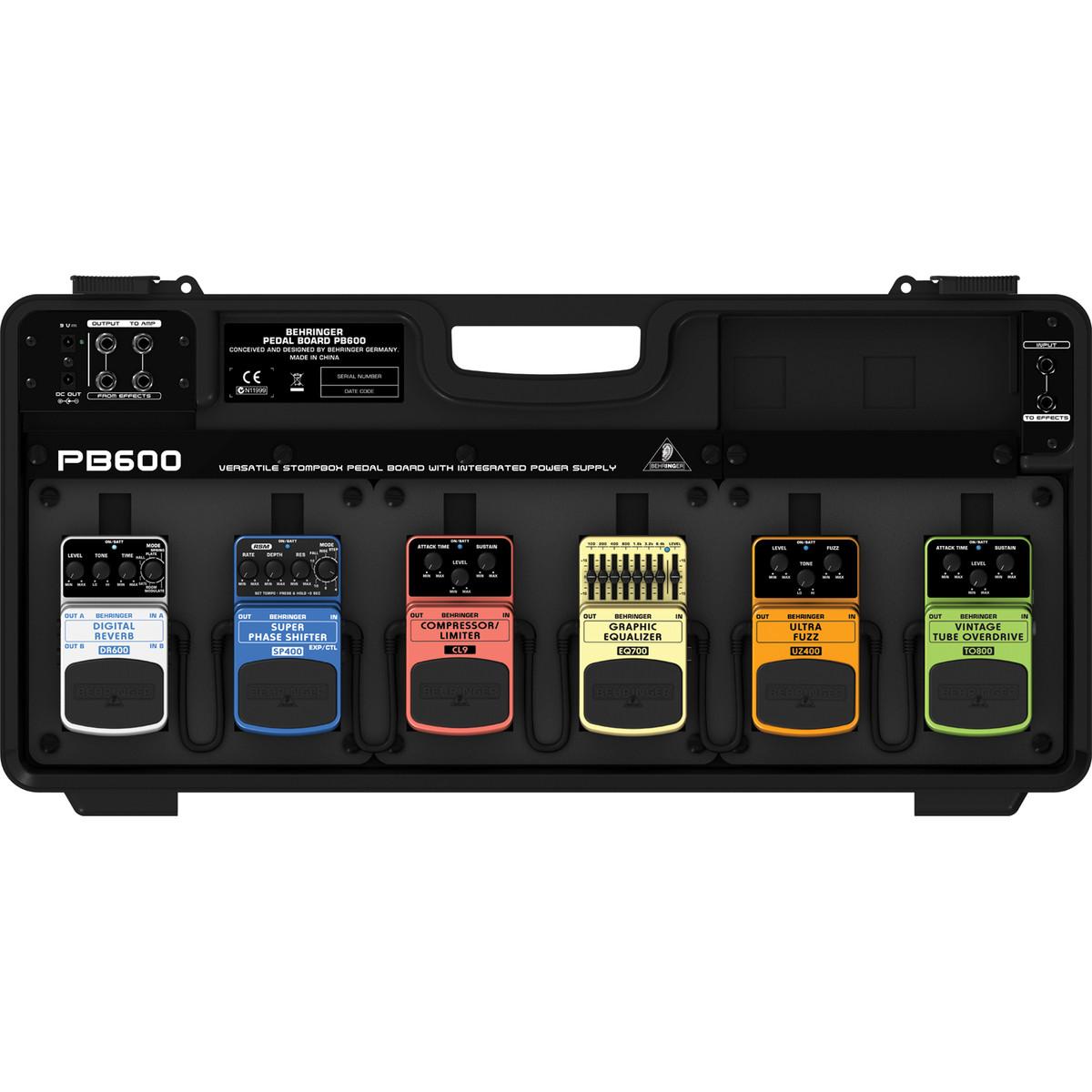 behringer pb600 pedal board with psu at. Black Bedroom Furniture Sets. Home Design Ideas