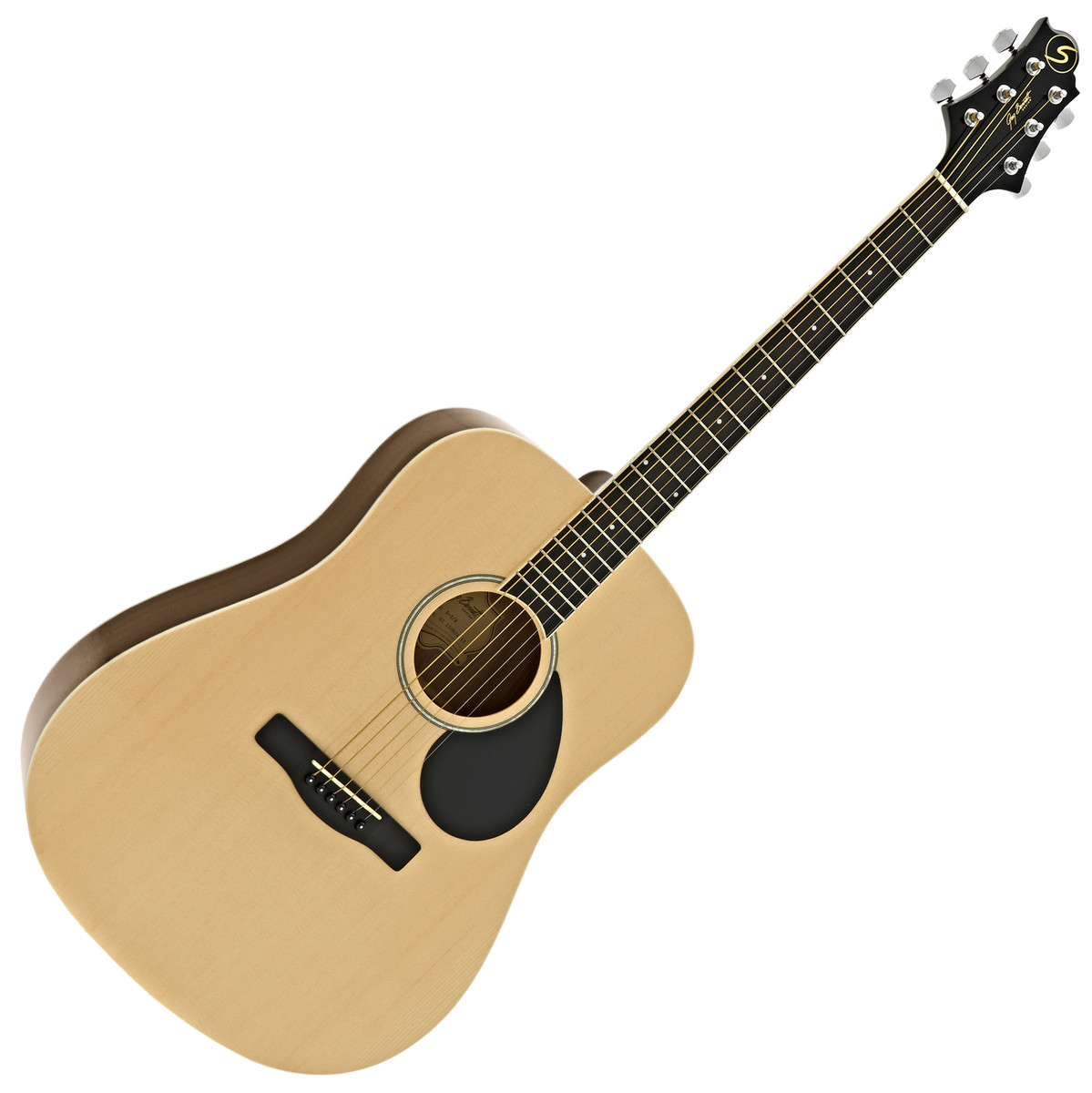 Image of Greg Bennett D-2 Acoustic Guitar Natural