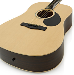 Greg Bennett D-2 Acoustic Guitar, Natural