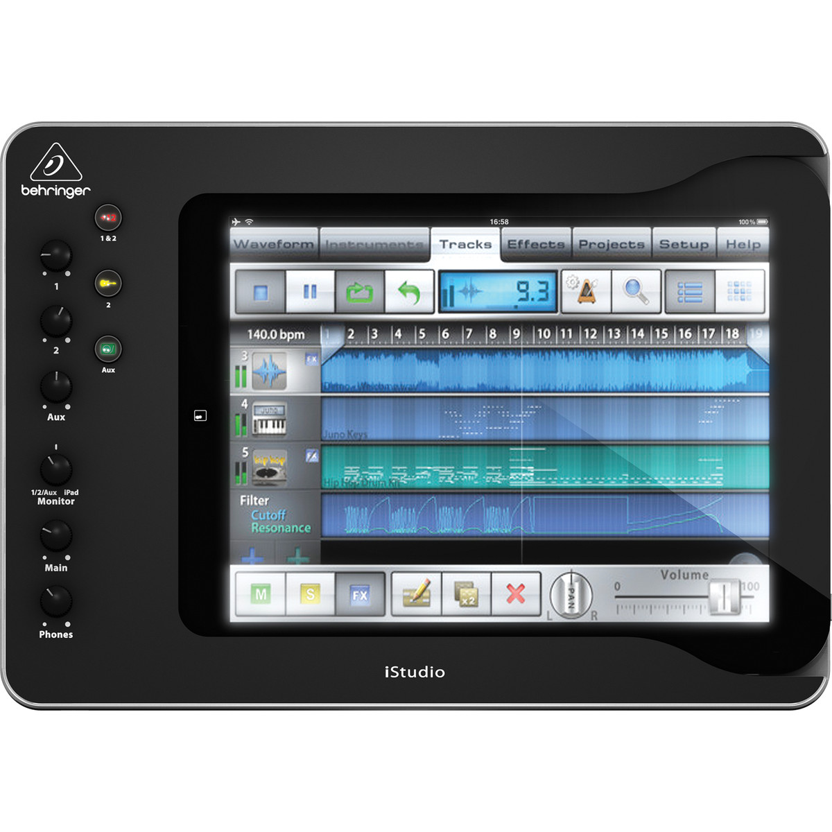 Image of Behringer iStudio iS202 iPad Mixer Dock