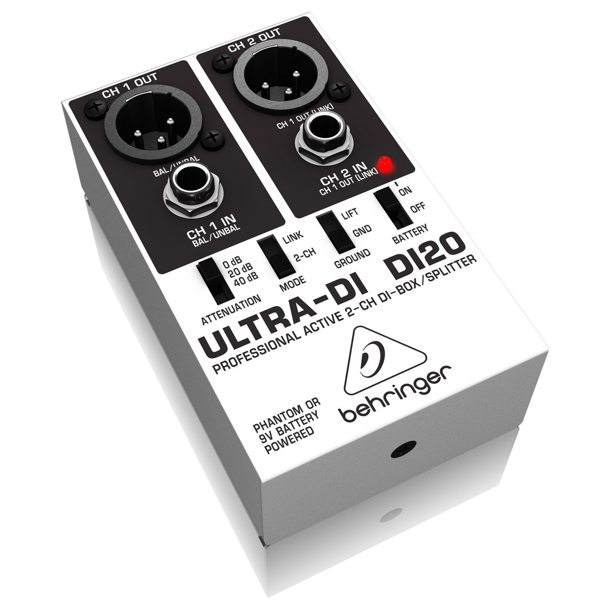 Image of Behringer DI20 Ultra-DI Box