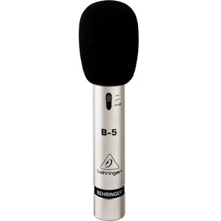 Behringer B-5 Condenser Microphone - Microphone With Windscreen