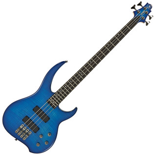 Greg Bennett Delta DB-204 Bass Guitar, Trans Blue