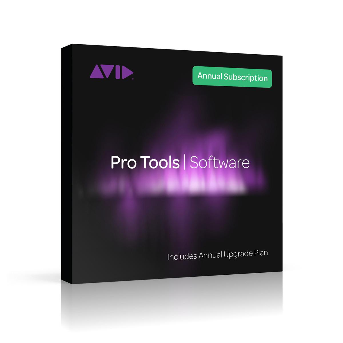 Image of Avid Pro Tools Student/Teacher Annual Subscription