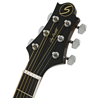 Greg Bennett D-2CE Electro Acoustic Guitar, Natural