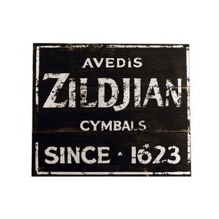 Zildjian Vintage Factory Wooden Sign