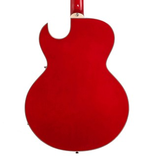 Dean Colt Semi-Hollow Body Guitar, Transparent Red