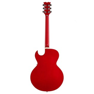 Dean Colt Semi-Hollow Body Guitar, Transparent Red