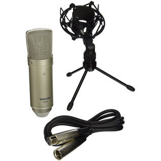 Tascam TM-80 Condenser Microphone - Bundle View 2
