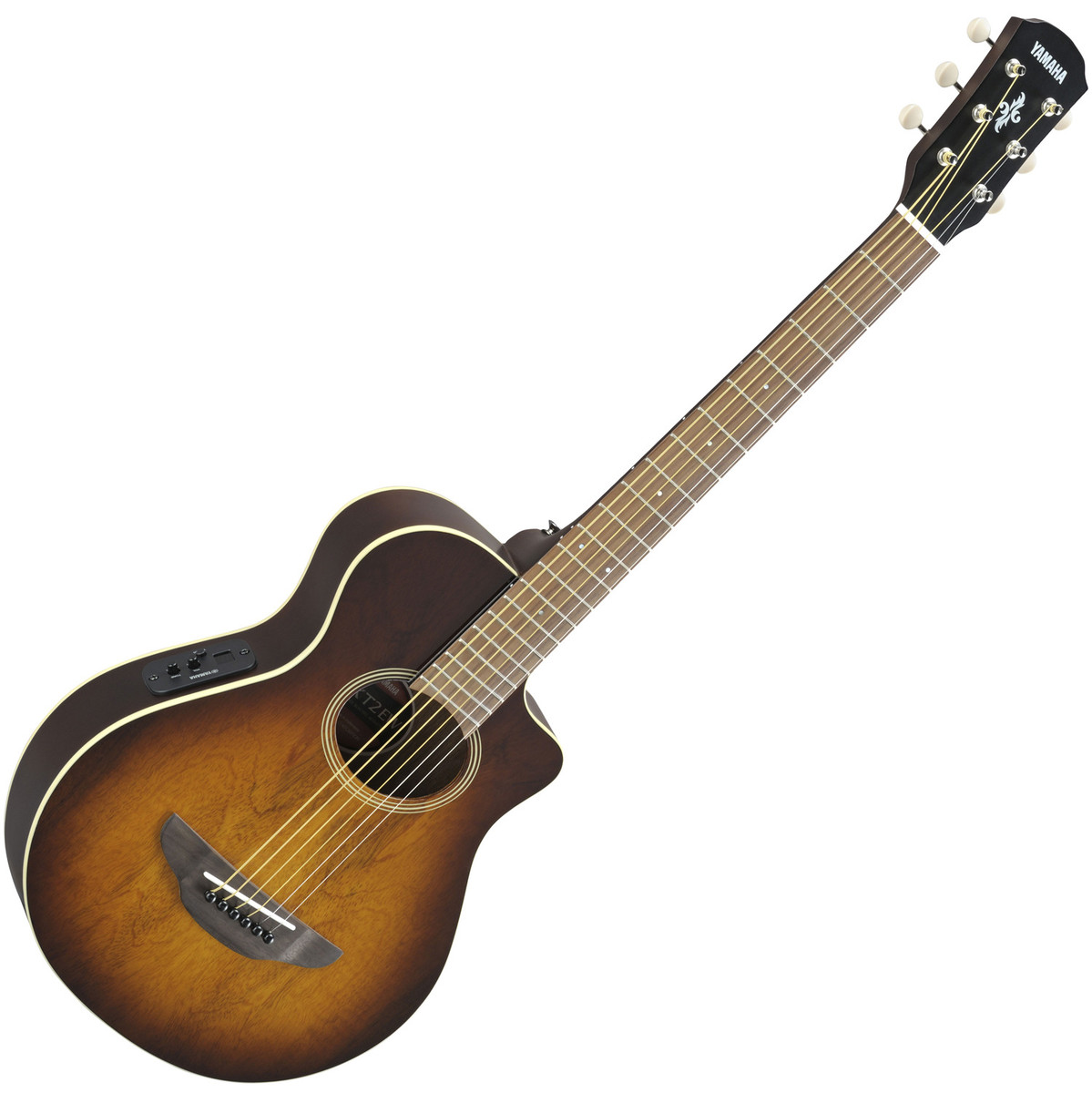 Disc yamaha apxt2ew 3 4 electro acoustic guitar tobacco for Yamaha acoustic bass guitar
