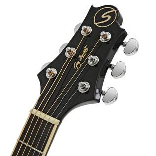 Greg Bennett OM-5 Acoustic Guitar, Black