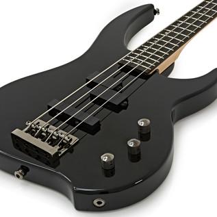 Greg Bennett Delta DB-104 Bass Guitar, Black