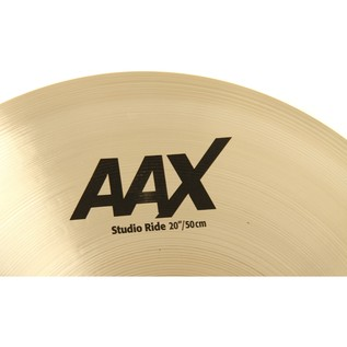 Sabian AAX 20'' Studio Ride Cymbal, Brilliant Finish