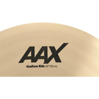 Sabian AAX 20'' Stadium Ride Cymbal, Brilliant Finish