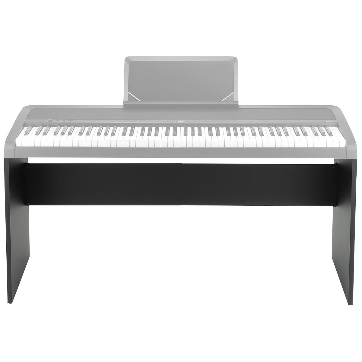 korg b1 digital piano stand black at. Black Bedroom Furniture Sets. Home Design Ideas