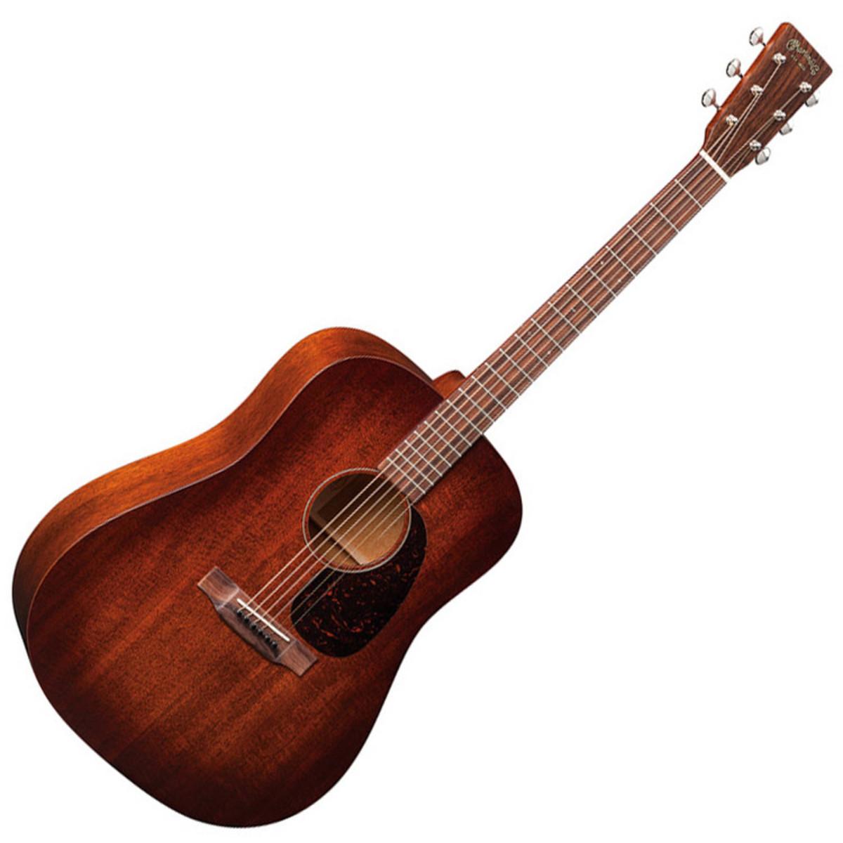 martin d 15m acoustic guitar mahogany burst top ex demo at. Black Bedroom Furniture Sets. Home Design Ideas