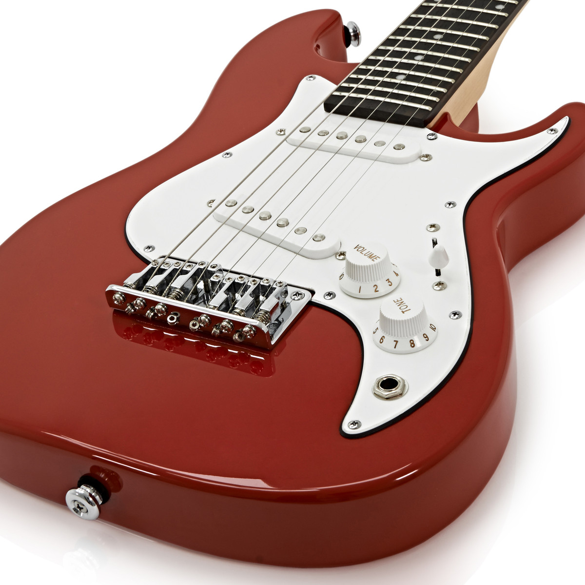 greg bennett malibu mmb 1 mini electric guitar red at. Black Bedroom Furniture Sets. Home Design Ideas