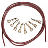 Beweise Audio Patch Kit 8 SIS Stecker mit 5ft-Monorail-Kabel