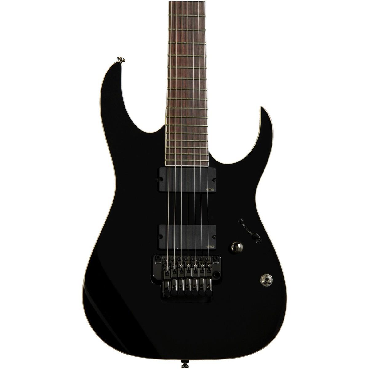 ibanez iron label rgir27e 7 string electric guitar black at. Black Bedroom Furniture Sets. Home Design Ideas