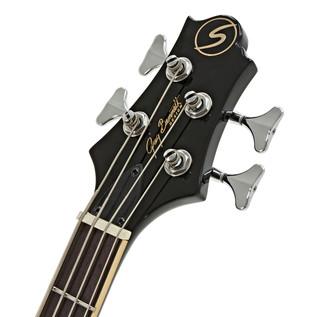 Greg Bennett Royale RLB-4 Bass Guitar, Black