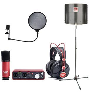 Focusrite Scarlett Studio Vocalist Recording Bundle